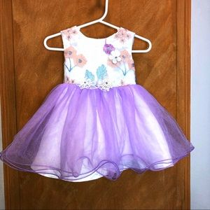 Other - Butterfly Tutu Dress Size 6-12 Months